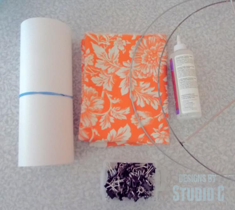 DIY Hanging Light and Lamp Shade Supplies