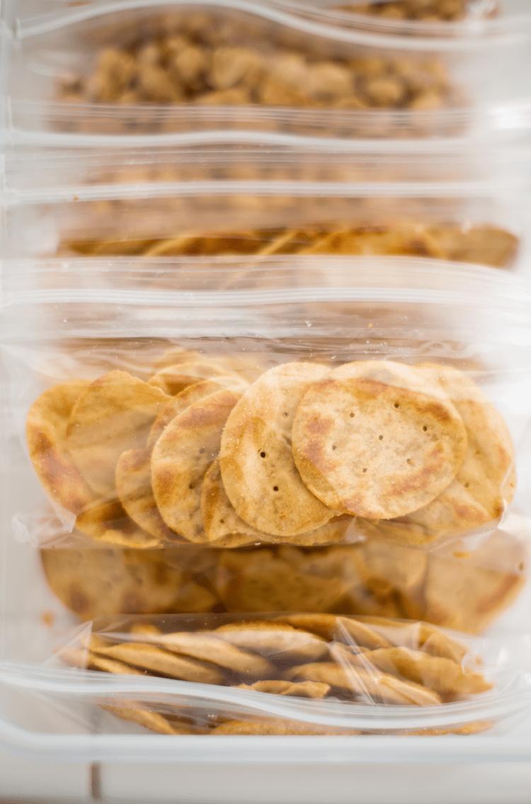 Easy Snack Pantry Organization
