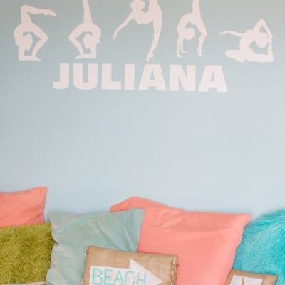Tween Bedroom… For My Gymnast