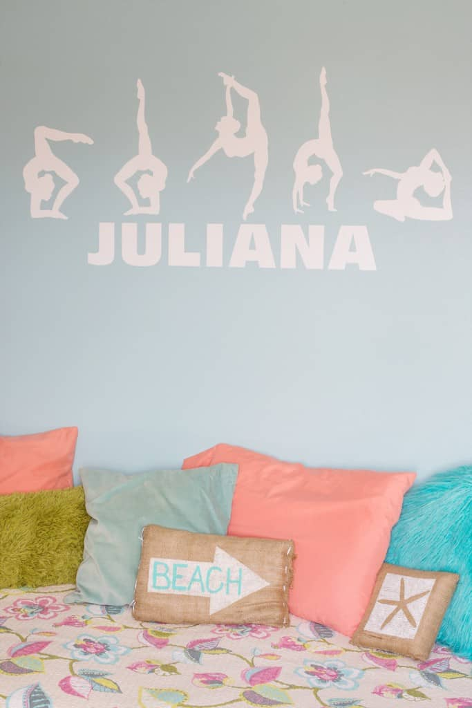 Vintage Tween Girls Room Update For A Gymnast