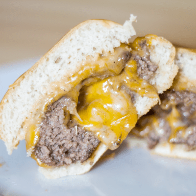 Cheese Stuffed Cheeseburger Recipe