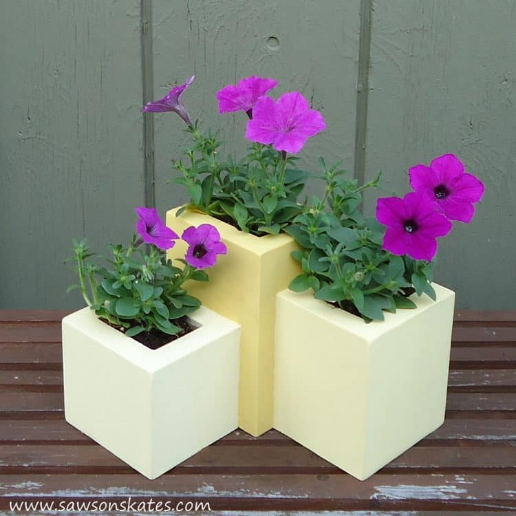 How to Build a DIY Tiered Wood Planter