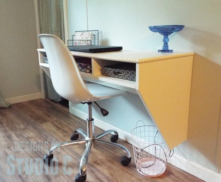 Perfect Homework Station Wall Mounted Desk