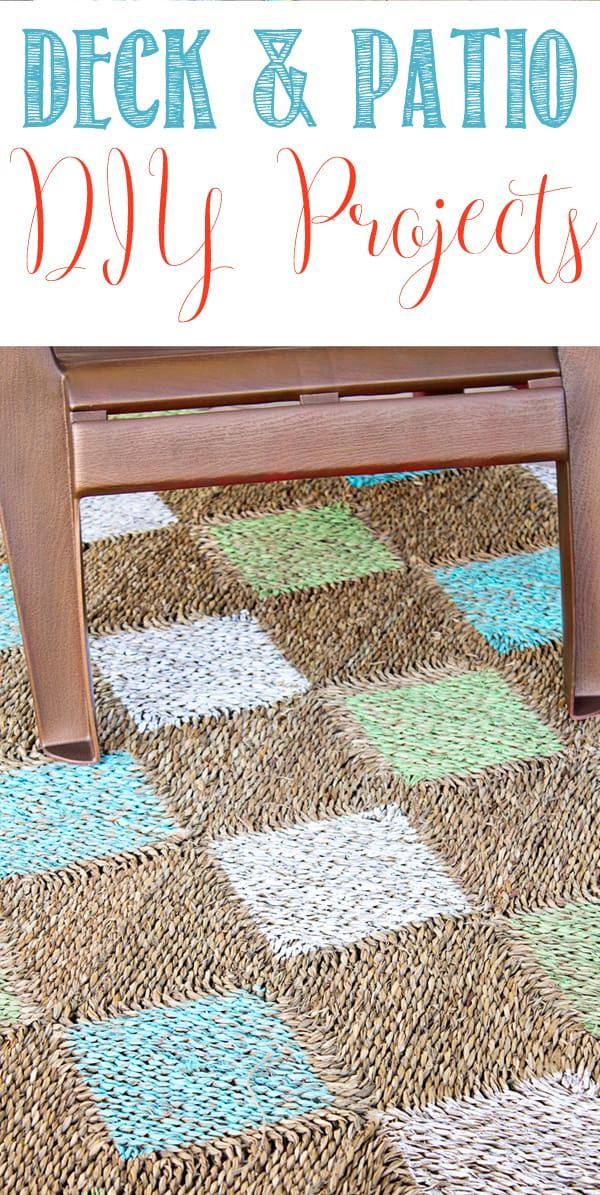 Deck and Patio DIY Projects