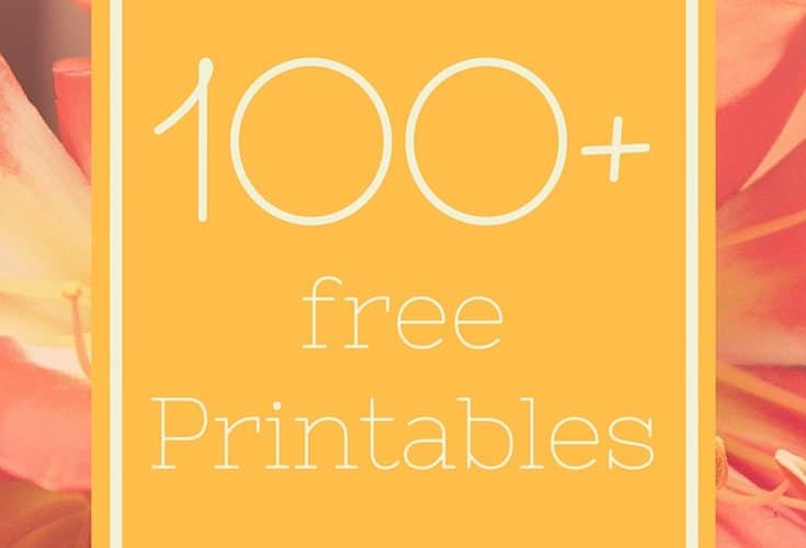 Free Printables Collection