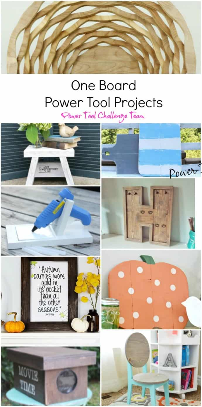 One board projects by the Power Tool Challenge Team