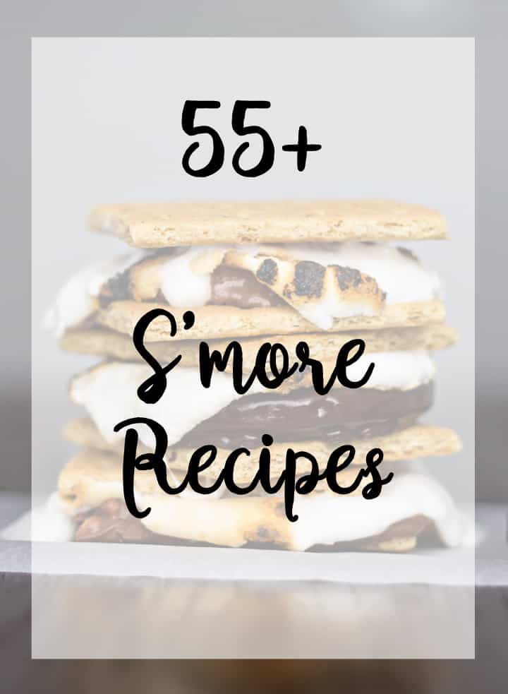Smore Recipes - lots of unique and different takes on s'mores plus lots of easy ones too