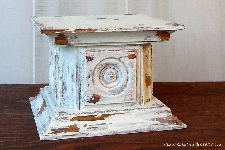 DIY Candle Holder Project with Rosettes