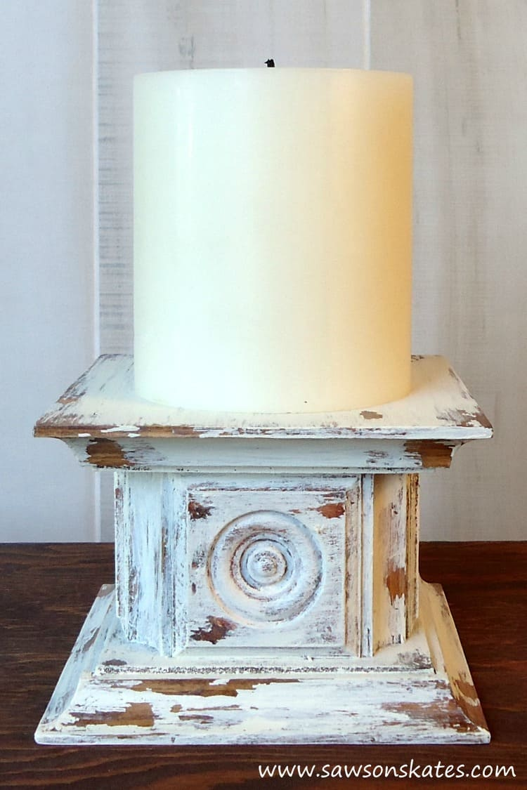 Chippy Candle Holder DIY Project