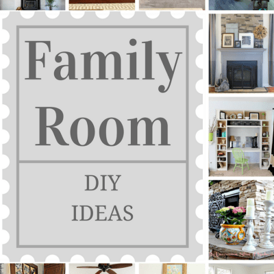 Family Room DIY Ideas