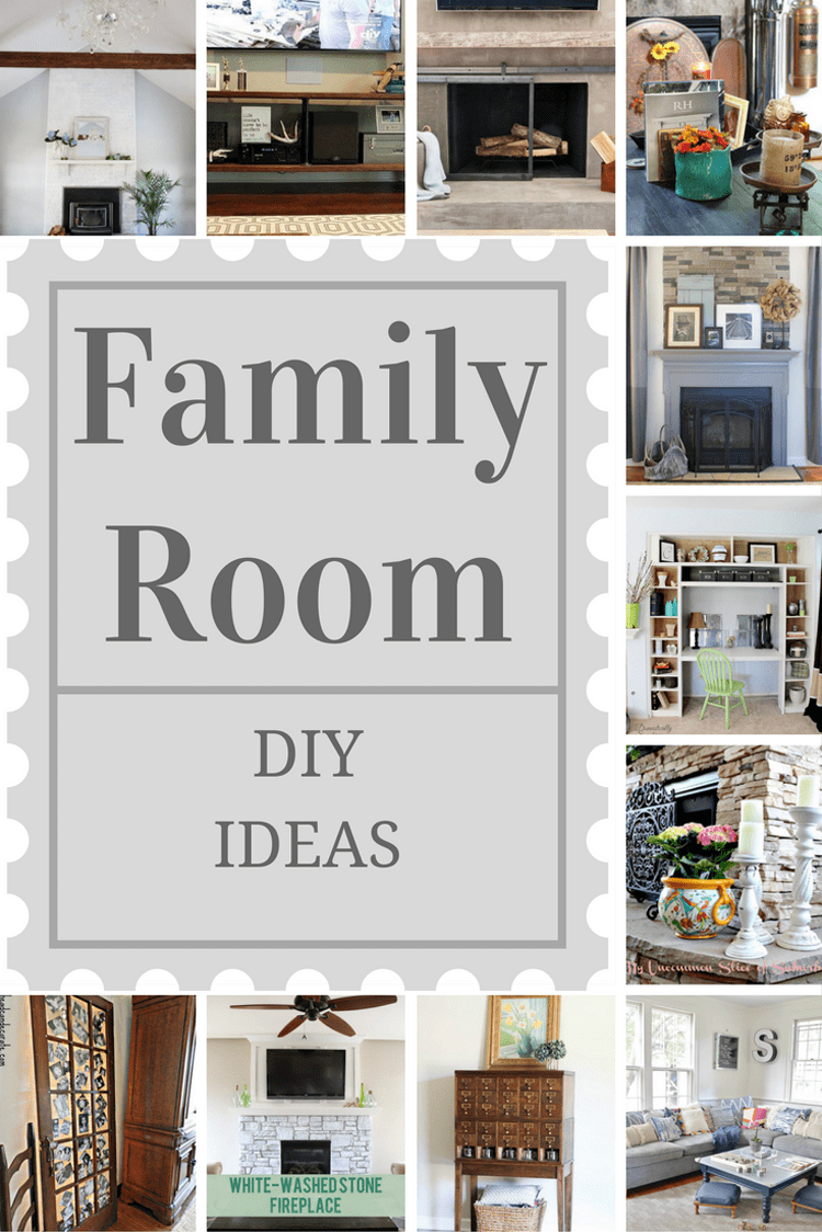 12 Amazing Family Room DIY Projects