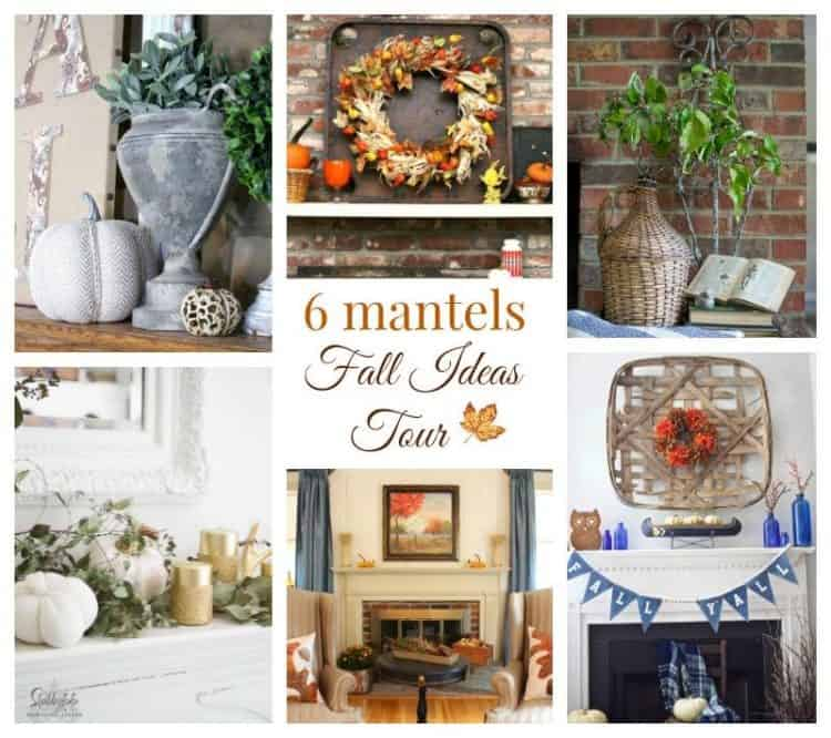 6 Fall Mantel Ideas