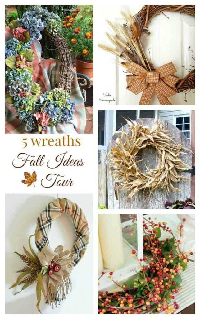 5 Fall Wreaths