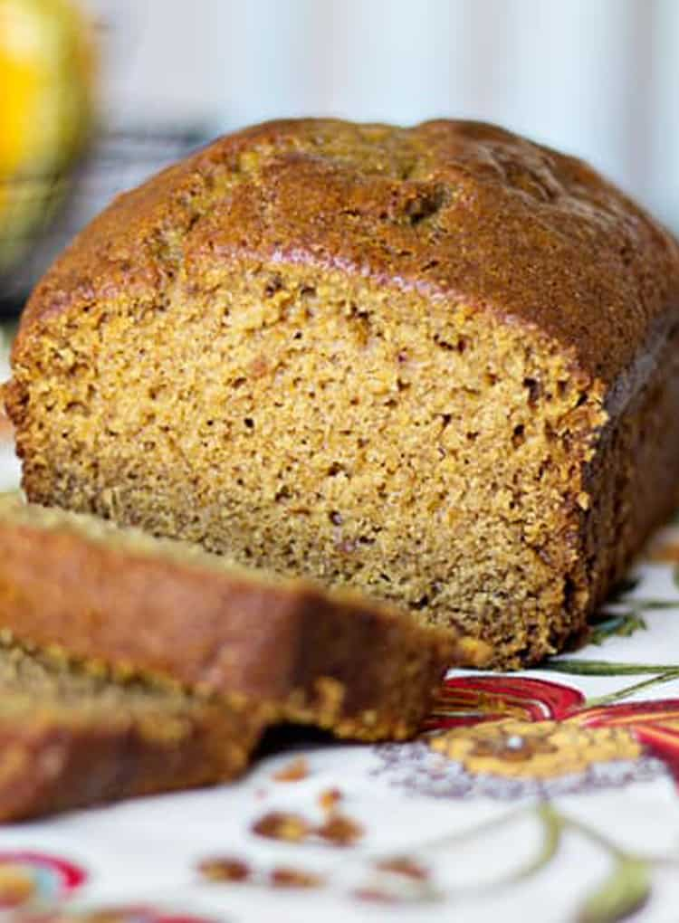 Pumpkin Spice Bread Recipe