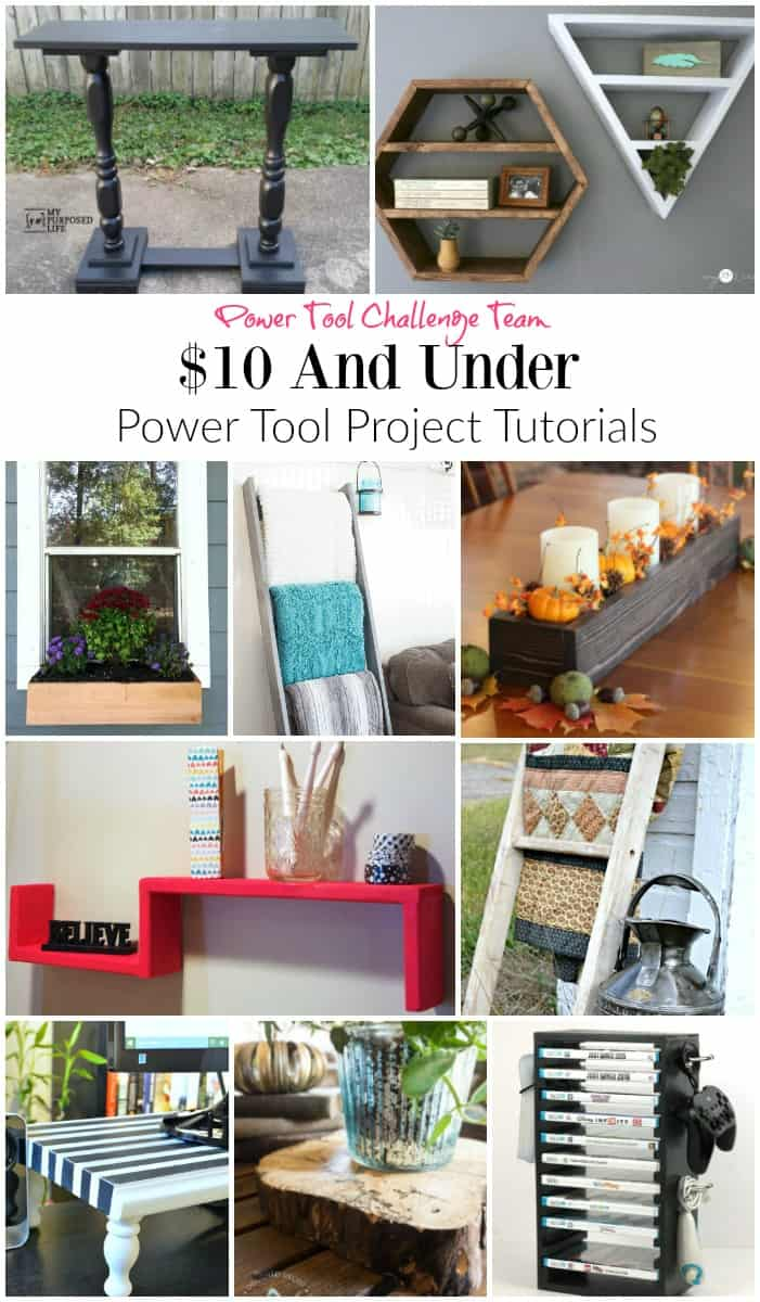 DIY Blanket Ladder under $10 - Domestically Speaking