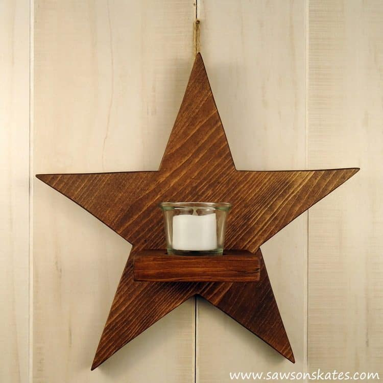 diy-rustic-wood-star-sconce-finished-1