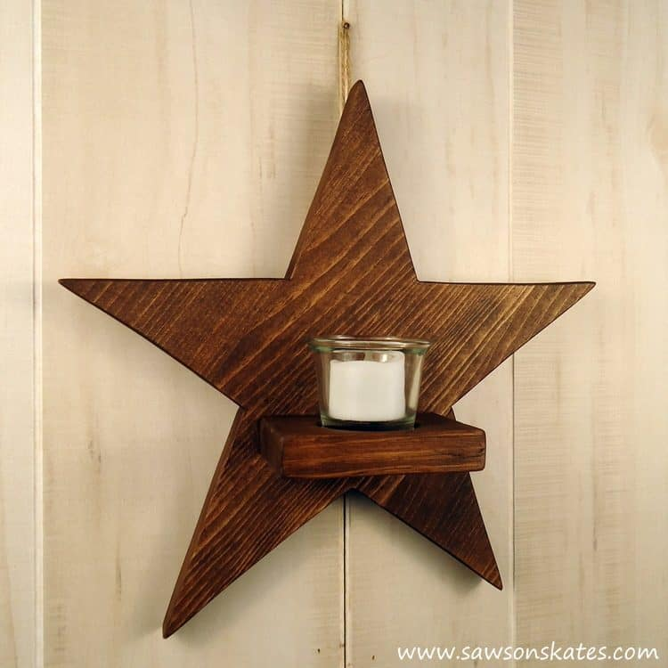 diy-rustic-wood-star-sconce-finished-2