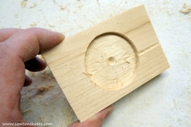 diy-rustic-wood-star-sconce-holder-drilled