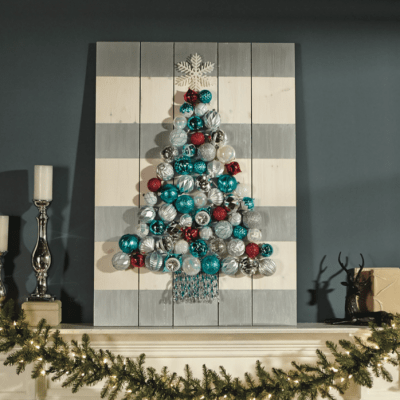 Holiday Ornament Display – Home Depot FREE Workshop