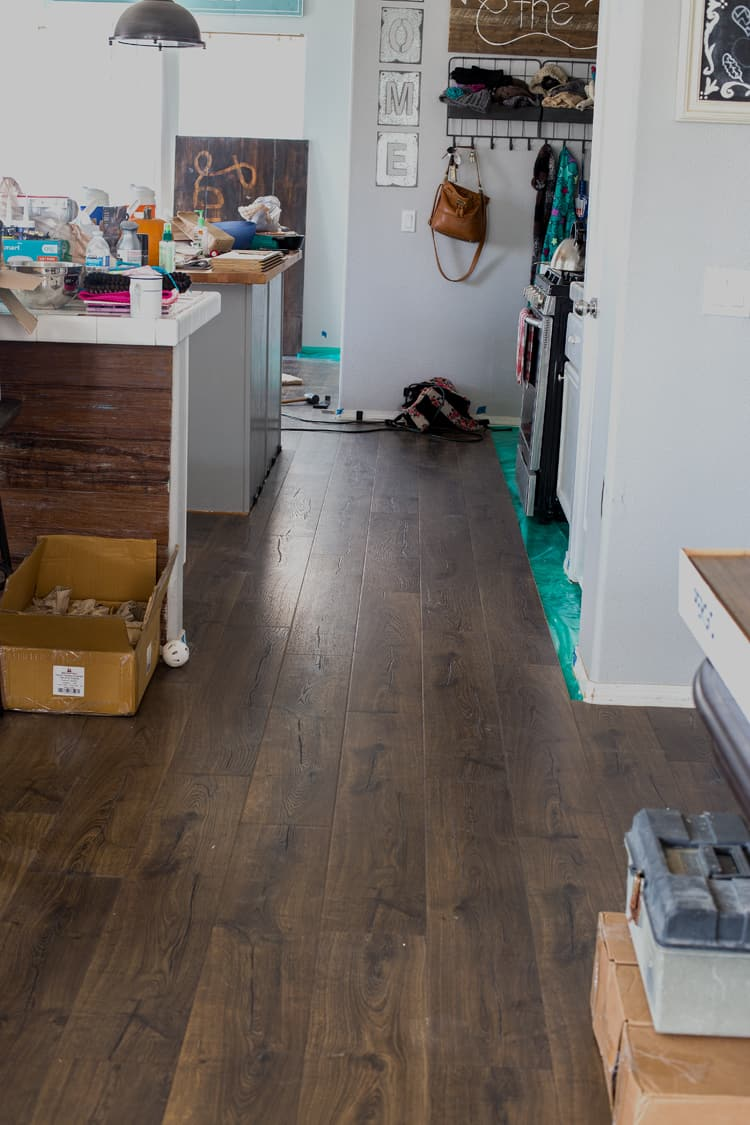 Installing pergo flooring domestically speaking for Laminate flooring contractors