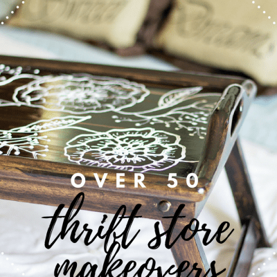 50+ Thrift Store Decor Makeovers