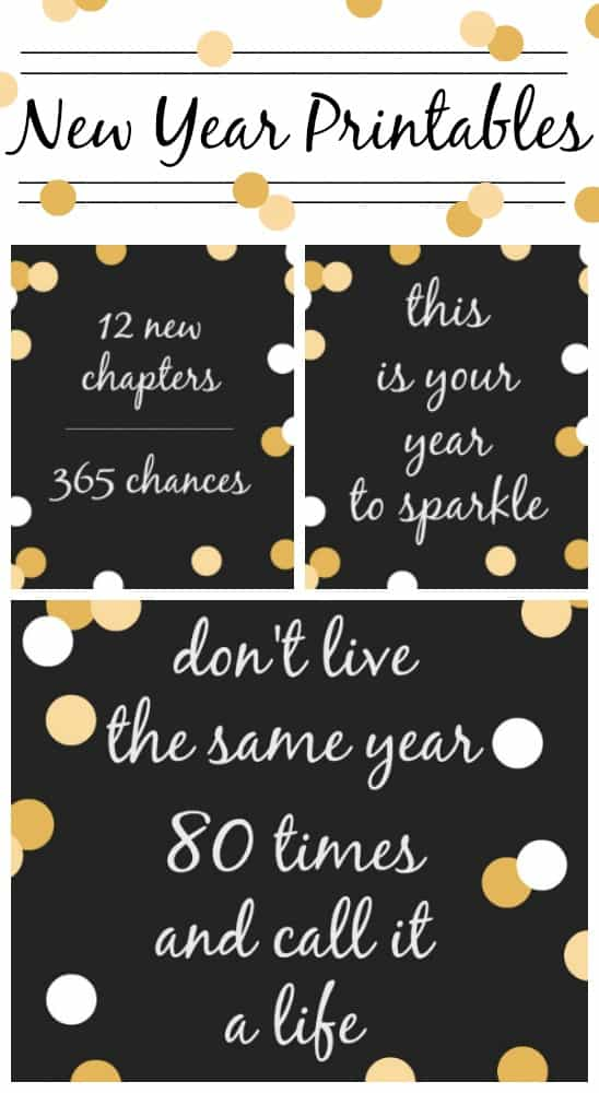 New Year Printable Quotes to Start 2017 Right ...
