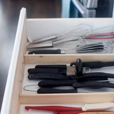 Easiest DIY Drawer Organization