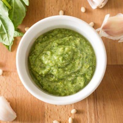 Homemade Pesto Sauce