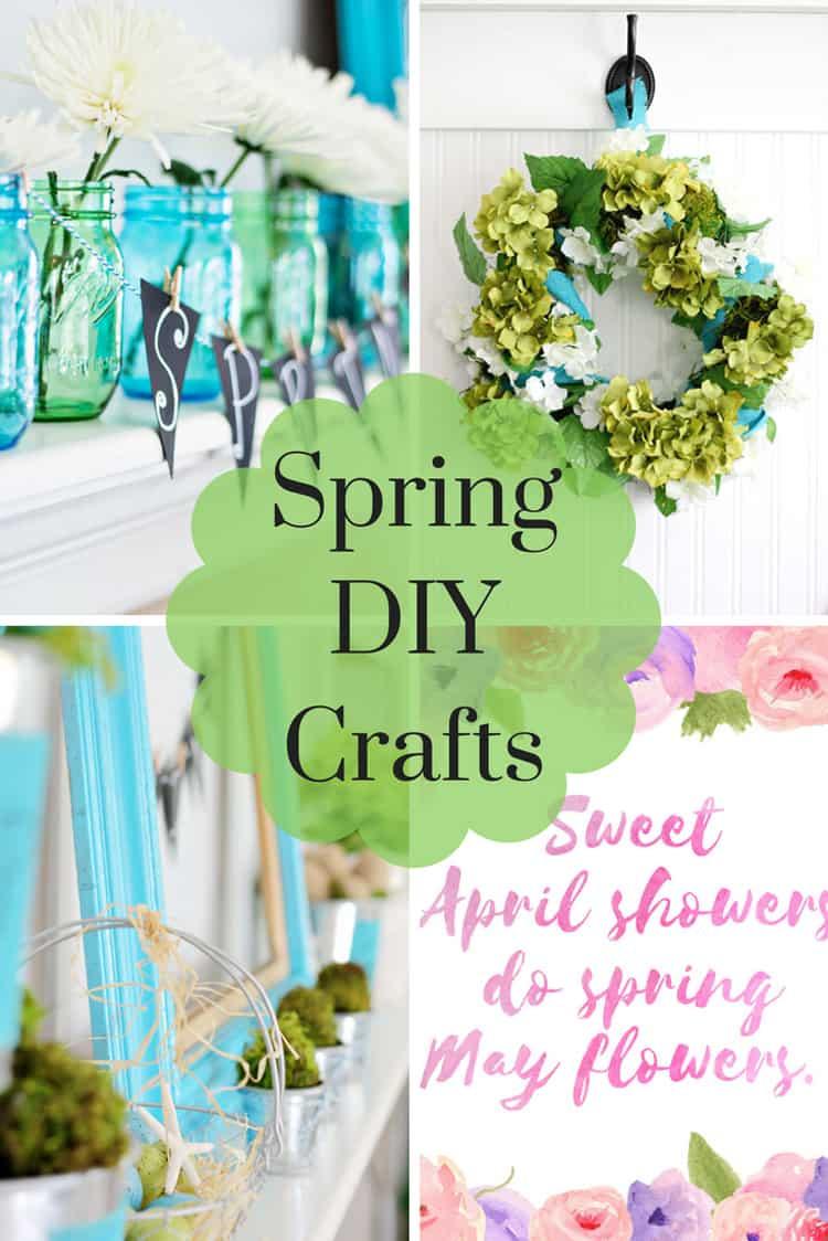 100+ Spring DIY Crafts | Spring Crafts | Easter Crafts and DIY Ideas