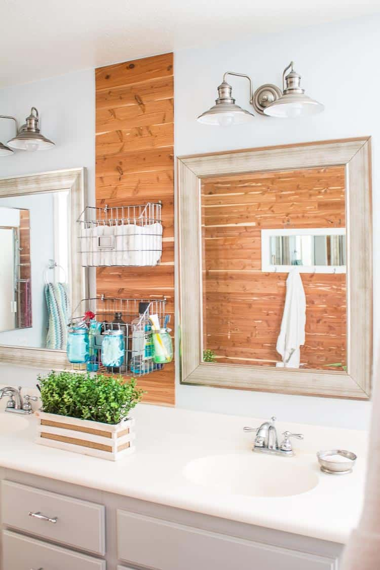 Rustic Master Bathroom Ideas: Rustic Industrial Master Bathroom Update