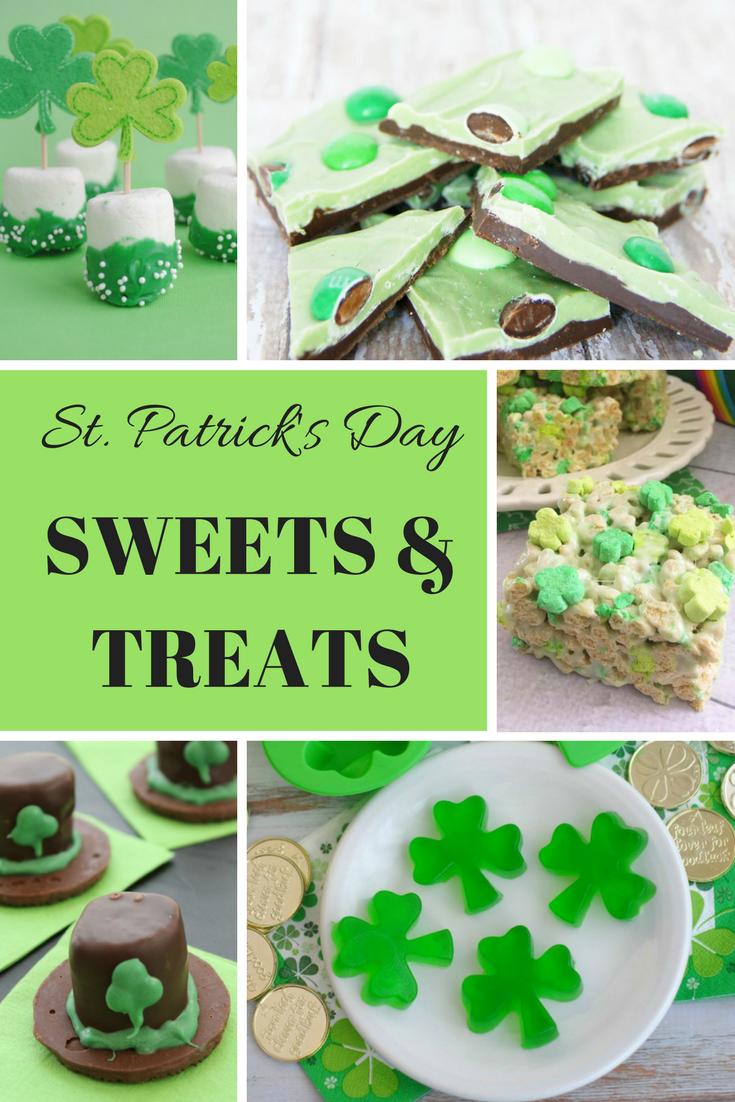 Saint Patrick's Day Sweets and Treats
