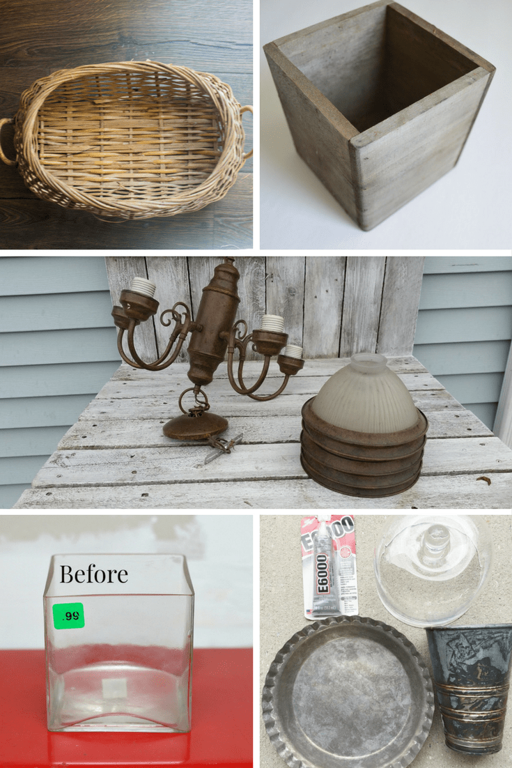 Spring Thrift Store Makeovers