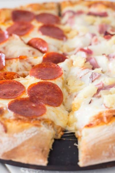 How to get the best pizza crust!
