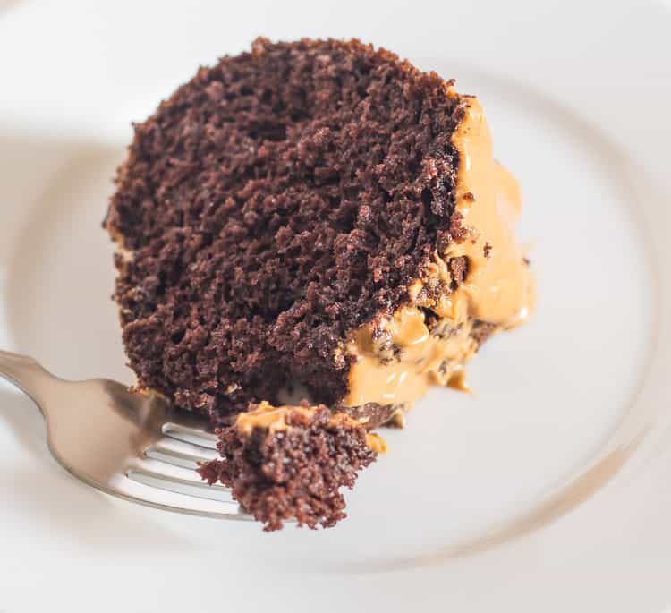 Rich and Delicious - Peanut Butter Chocolate Cake