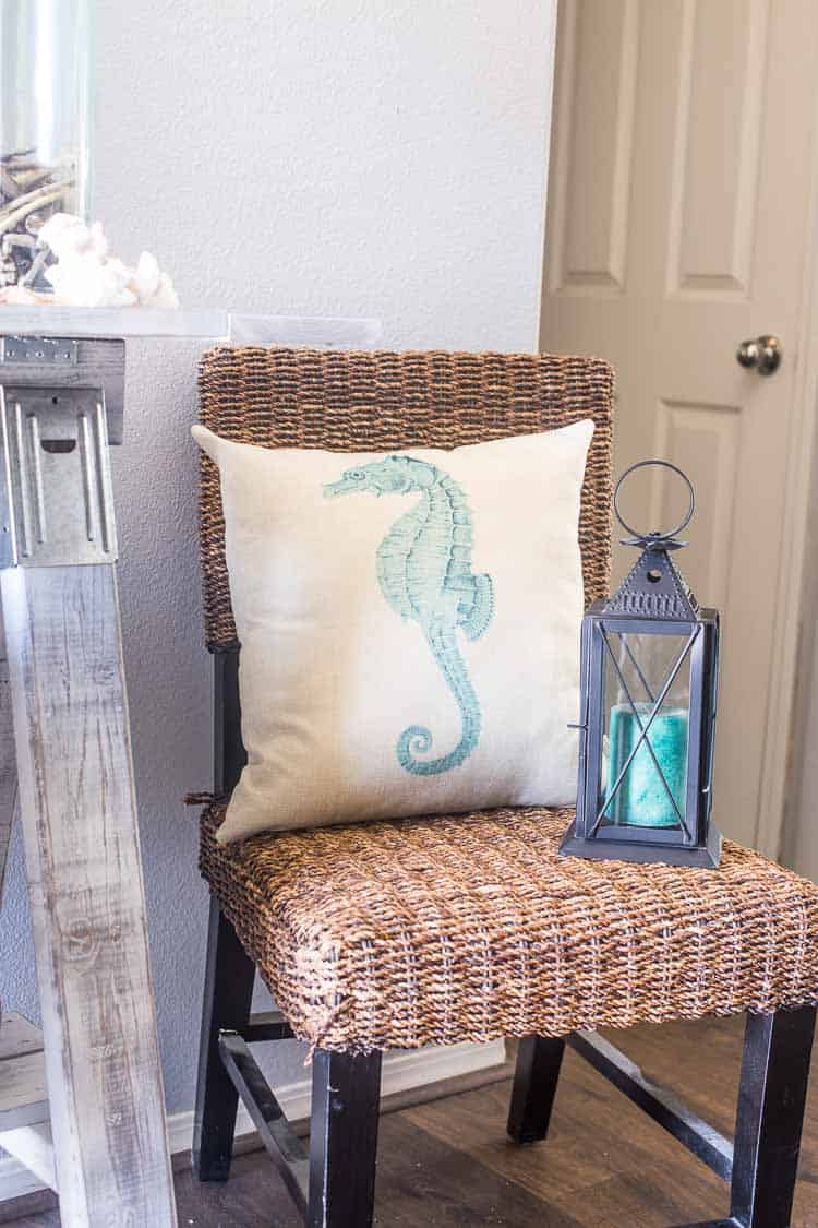 Coastal Summer Entryway