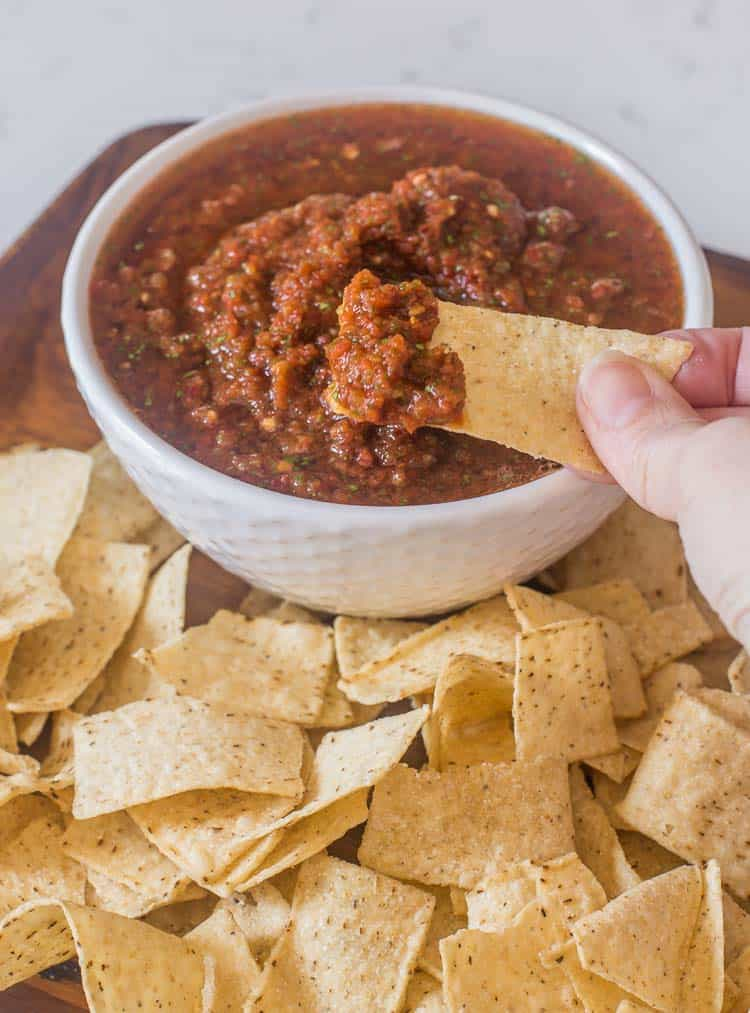 Chipotle Salsa Recipe