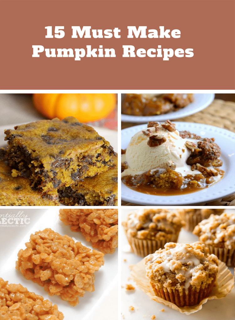 Must Make Pumpkin Recipes
