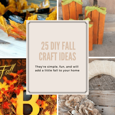 25 DIY Fall Craft Ideas