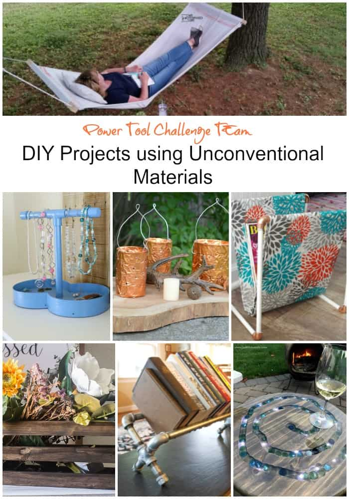 DIY Projects using pipes and other unconventional items