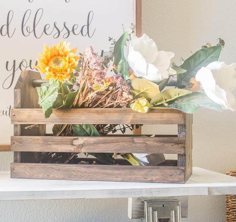 Diy Wood Toolbox For Your Decor Domestically Speaking