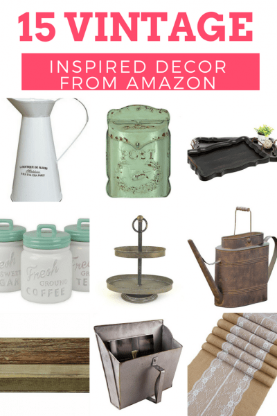 Vintage Inspired Decor for Your Home