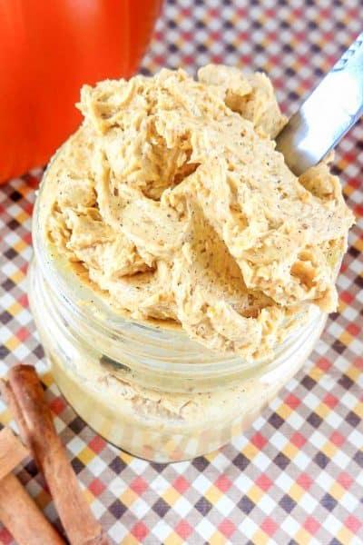 Whipped Pumpkin Pie Butter Recipe
