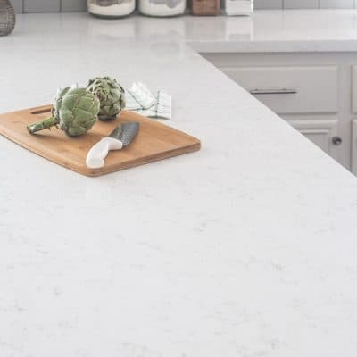 Our Beautiful Marble Like Quartz Countertops