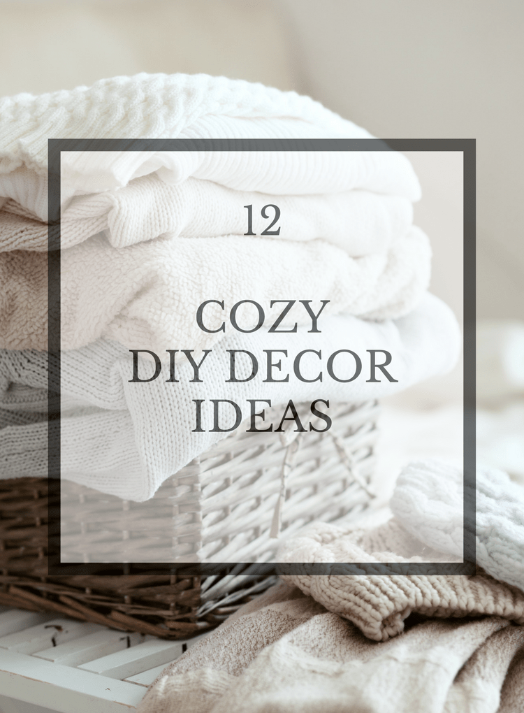 Cozy diy ideas for your home domestically speaking for Diy cozy homes