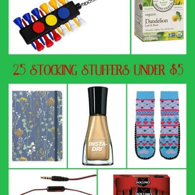 25 Christmas Stocking Stuffers Under $5