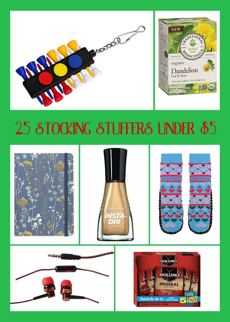 25 Christmas Stocking Stuffers Under $5 - Domestically Speaking