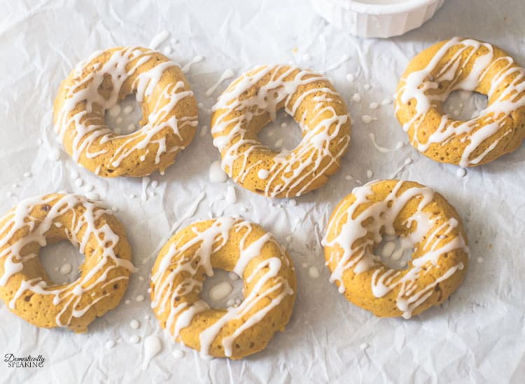 Pumpkin Spice Donuts perfect for Fall Baking