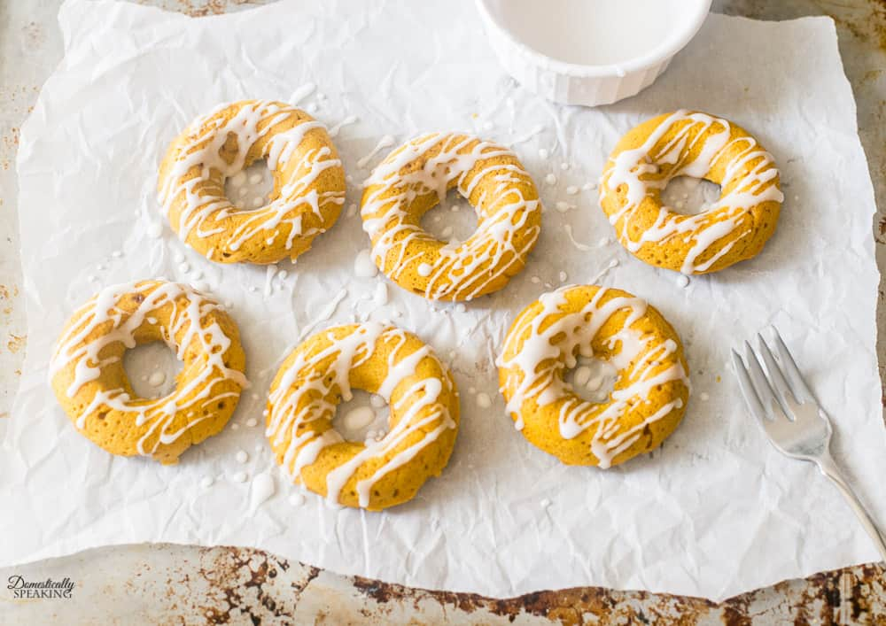Easy to Make Pumpkin Spice Donuts Recipe