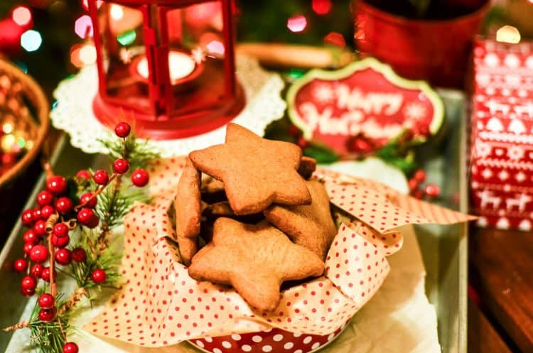 Christmas cookie gift: Ginger Cut Out Cookies