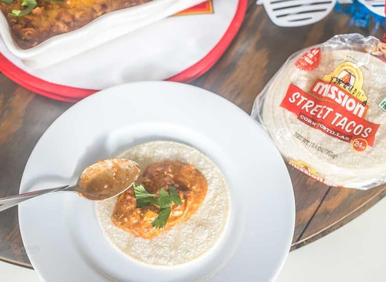 Chicken Enchilada Dip Recipe | Football Food